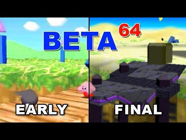 Beta64 - Kirby 64: The Crystal Shards