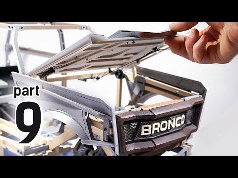 Fenders & Hood - 2020 Bronco concept 1/6 - Part 9