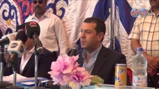 افتتاح قرية النخيلة بحضور محافظ اسيوط وابو هشيمة وجمعة والسقا