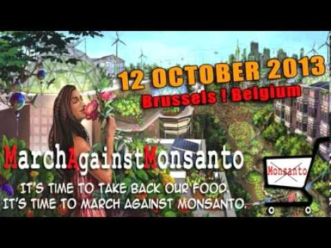MarchAgainstMonsanto↩ Radio Centraal, Brussels 12Oct2013