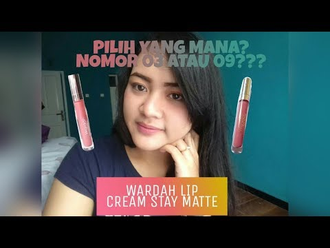 review-wardah-lip-cream-03-vs-09-bagus-mana?????-||-fanissa-yolanda