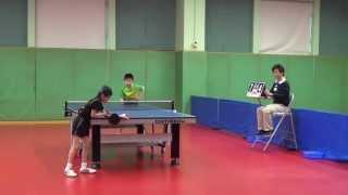 全港青少年U12乒乓球團體比賽九龍塘對啟思國際C