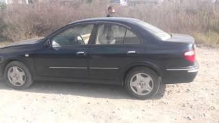 Видео-тест автомобиля Nissan Bluebird Sylphy (темно синий, QG10, 2001, Qg18de)