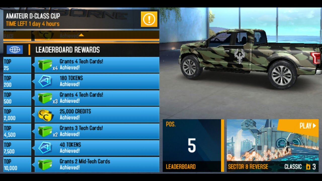 asphalt 8 ford f 150 sector 8 rev 1 30 684 youtube. Black Bedroom Furniture Sets. Home Design Ideas