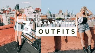 3 TRENDY + FUN BACK TO SCHOOL OUTFIT IDEAS! | DaniSmithStyle