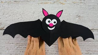 How to make a Paper Bat | Halloween Crafts for Kids | Activities for Kids
