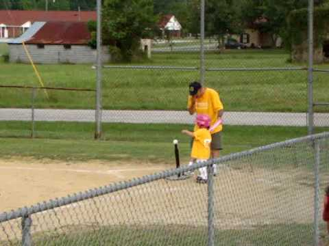 1st T-ball game