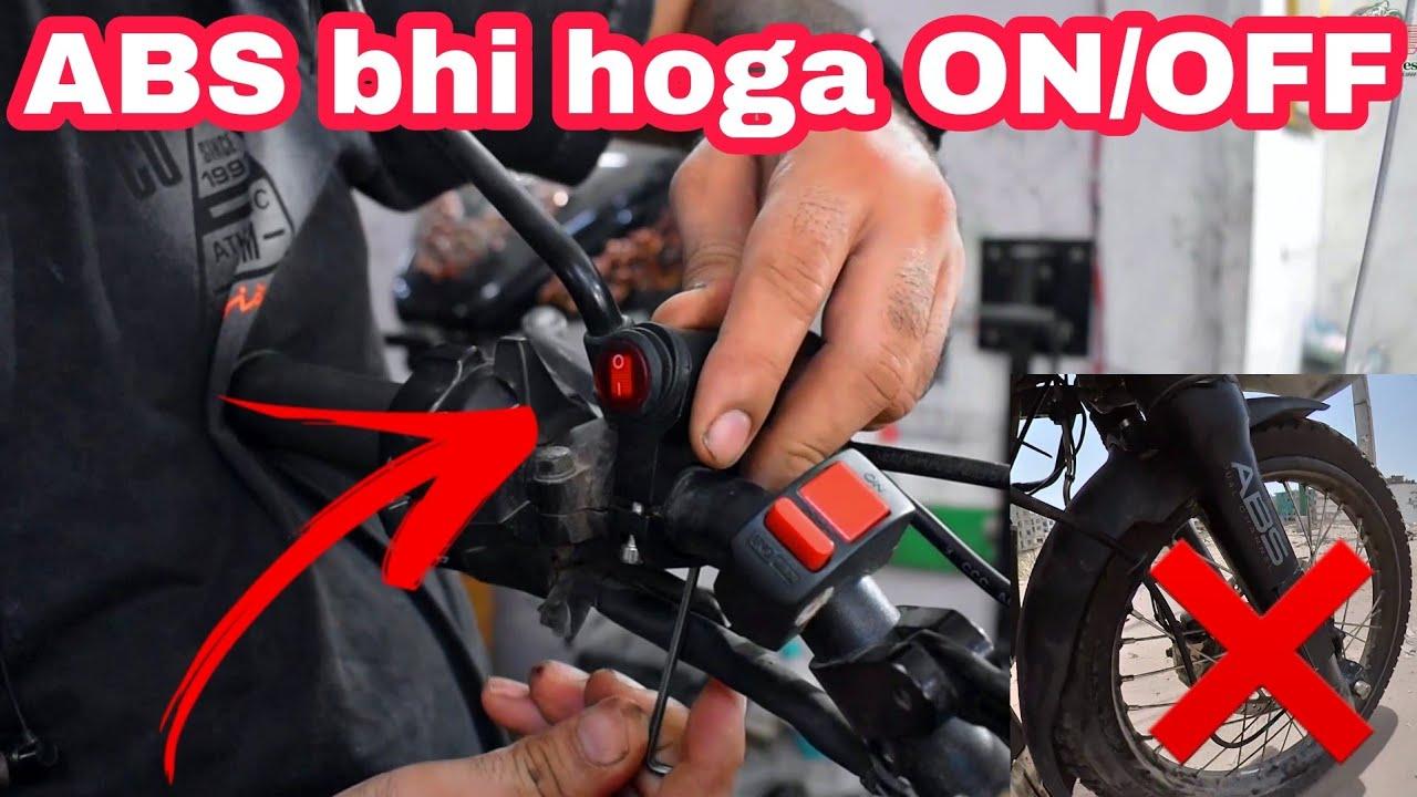 Installing ABS ON-OFF Switch 🔥 | Khud Bhi Kar Sakte Ho 👍 | NCR Motorcycles |