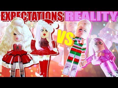 Christmas EXPECTATIONS vs REALITY! Royale High w/ Leah Ashe