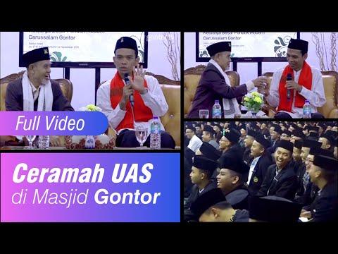 FULL VIDEO: Ceramah UAS Di Masjid Gontor Bersama Santri Dan Guru Gontor