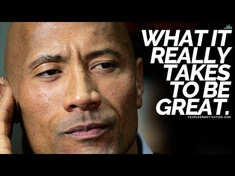 What It Really Takes To Be Great - Motivational Speech