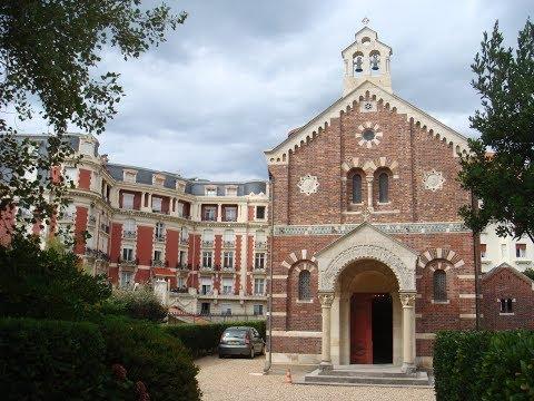 Visite de la chapelle impériale à Biarritz