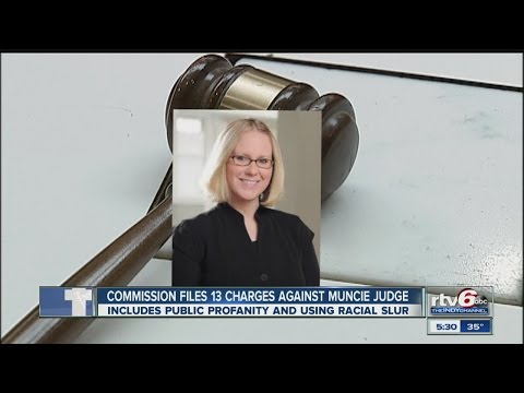 Muncie judge facing 13 counts of judicial misconduct