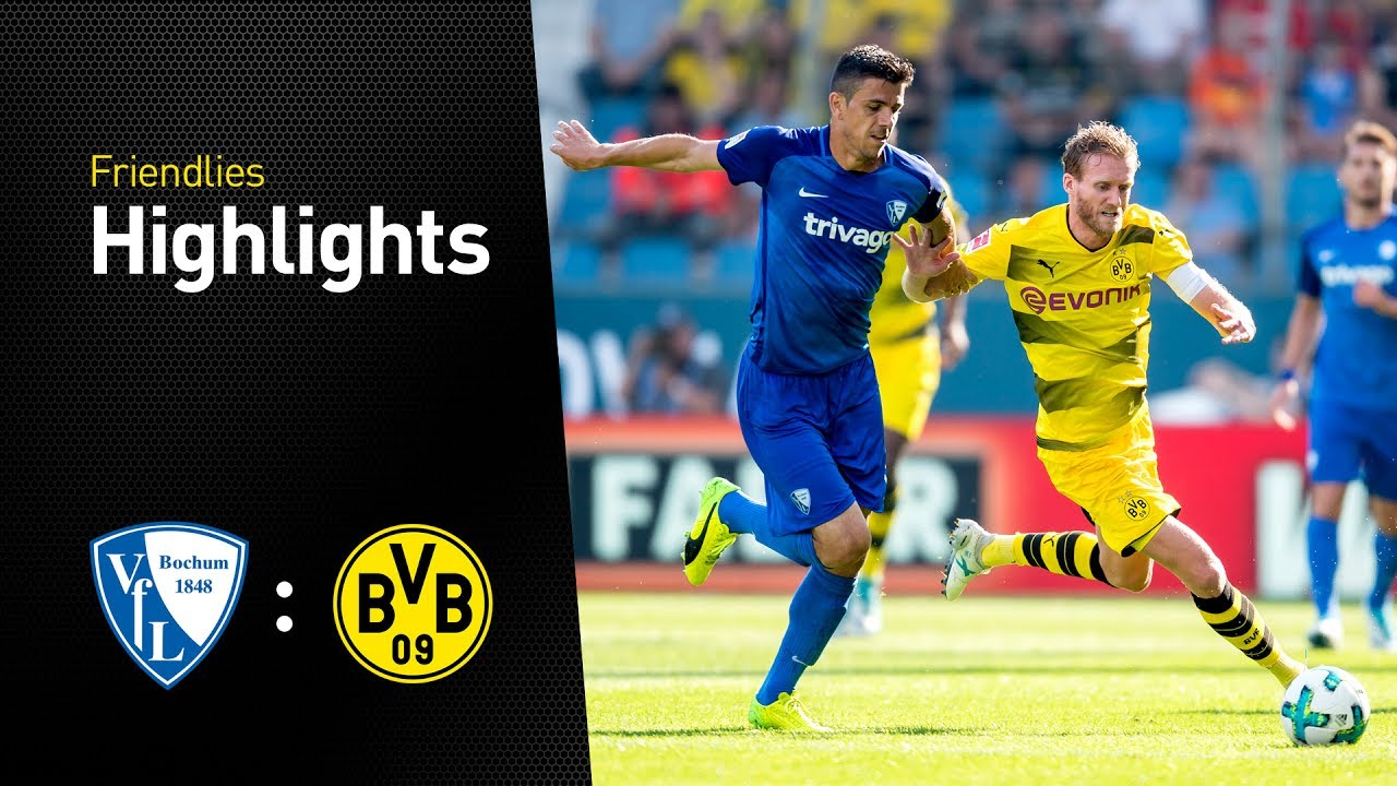 Highlights (EN): VfL Bochum - BVB 2-2