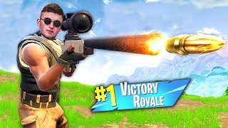 Getting a VICTORY ROYALE On FORTNITE! (Infinite Lists Live)