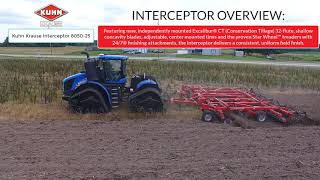 New Holland T9.600 with Kuhn Krause 8050-25 Interceptor - Field Day 2019