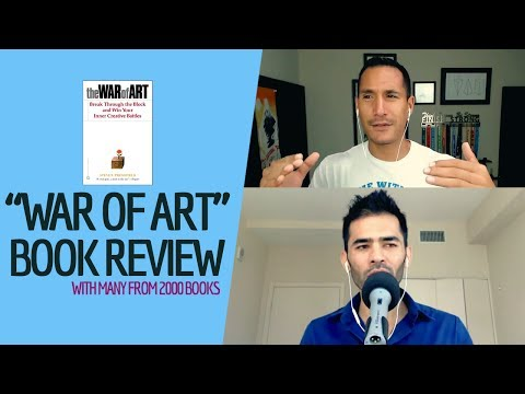 """The War Of Art"" Book Review (With Many From 2000 Books)"