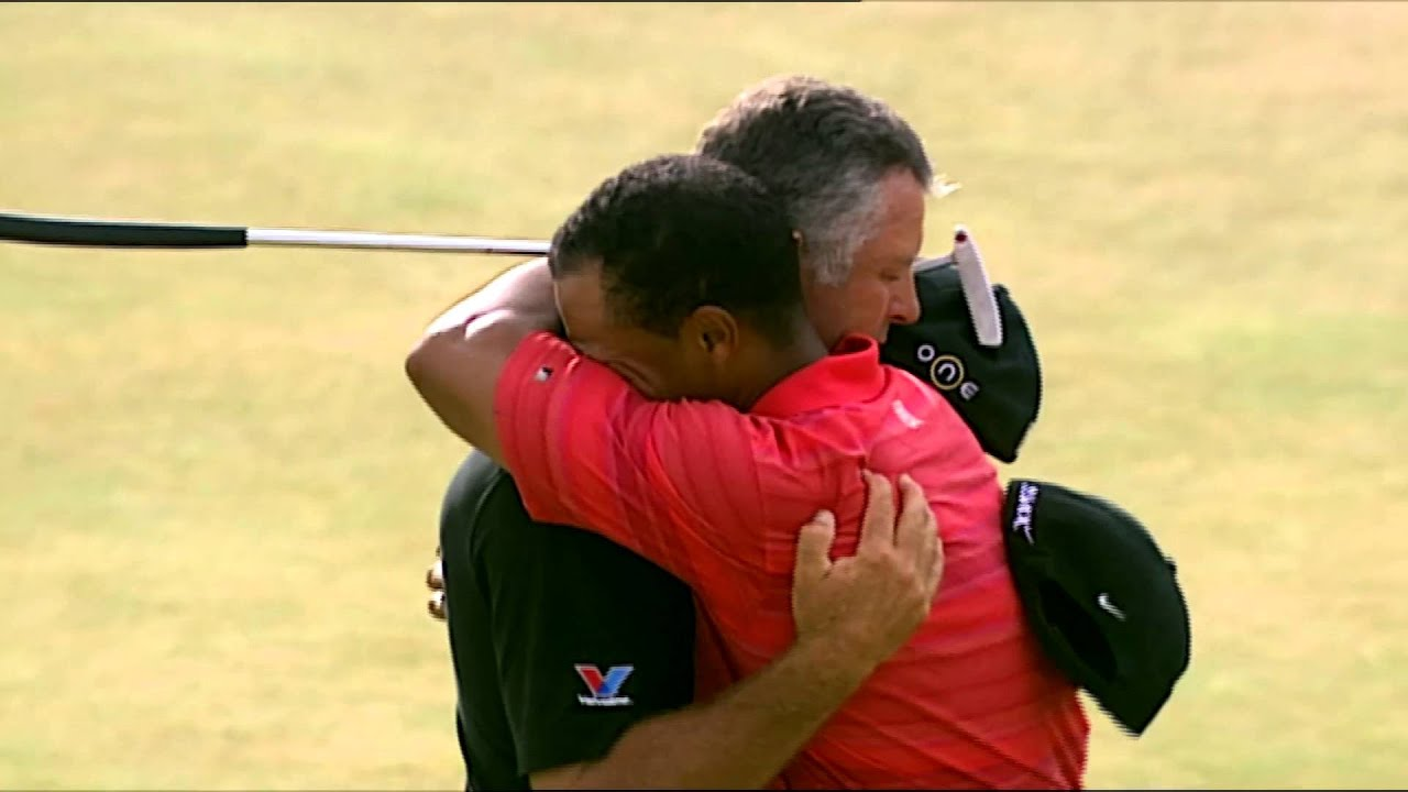 open moments  tiger woods wins the 2006 open championship