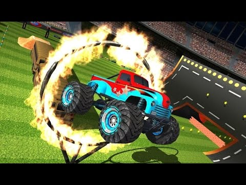 AEN Monster Truck Arena 2017 - Android Gameplay HD