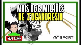 GRAN TURISMO SPORT PASSOU DOS 5 MILHÕES DE JOGADORES!!!