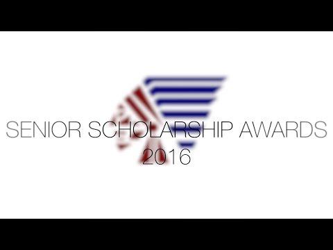 2016 Senior Scholarship Award Night
