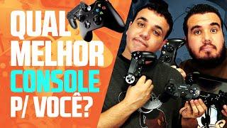 Qual é o Melhor? PS4, Xbox One, Wii U, PS3 ou Xbox 360? | Papo de Caverna 02