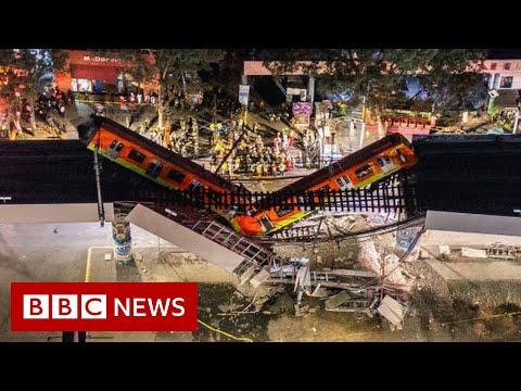 Mexico City metro overpass collapse kills 23 - BBC News