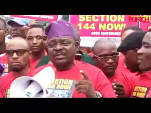 2019 Elections: Group protests against Buhari   Punch Mp3