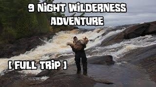 9 Night Wilderness Adventure with My Dog [Full Trip]