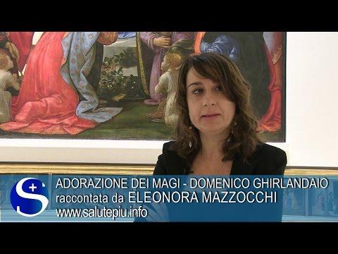 Domenico Ghirlandaio Adorazione dei Magi Eleonora Mazzocchi