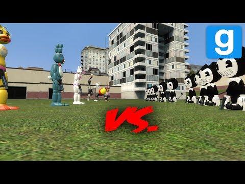 FNAF VS. BENDY! | Garry's Mod
