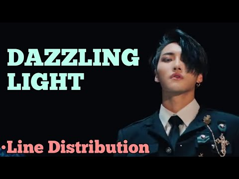 ATEEZ - DAZZLING LIGHT (Line Distribution)