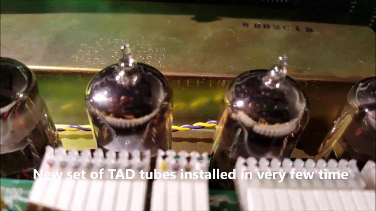 CARVIN QUAD-X AMP / Tubes Test from JJ to TAD