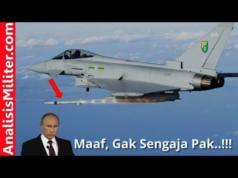 Tak Sengaja, Jet Tempur Sekutu Amerika Ini Tembakkan Rudal Dekat Wilayah Rusia