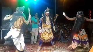 Holi Khele masane me Bhole Bhakt Performing stage