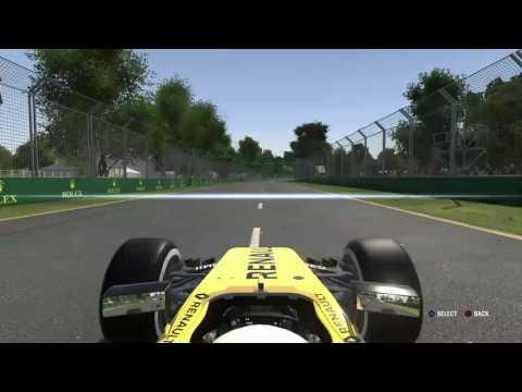 F1 2016 - Career With Renault - Round 1 Melbourne Australia