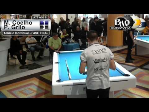 2016 Vila Nova de Gaia - Torneio Individual - M. Coelho vs P. Grilo