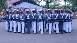 PMA SINAGLAHI CLASS OF 2015 SILENT DRILL IN TAGUM CITY