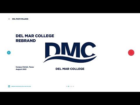 Del Mar College Rebrand & Mockups