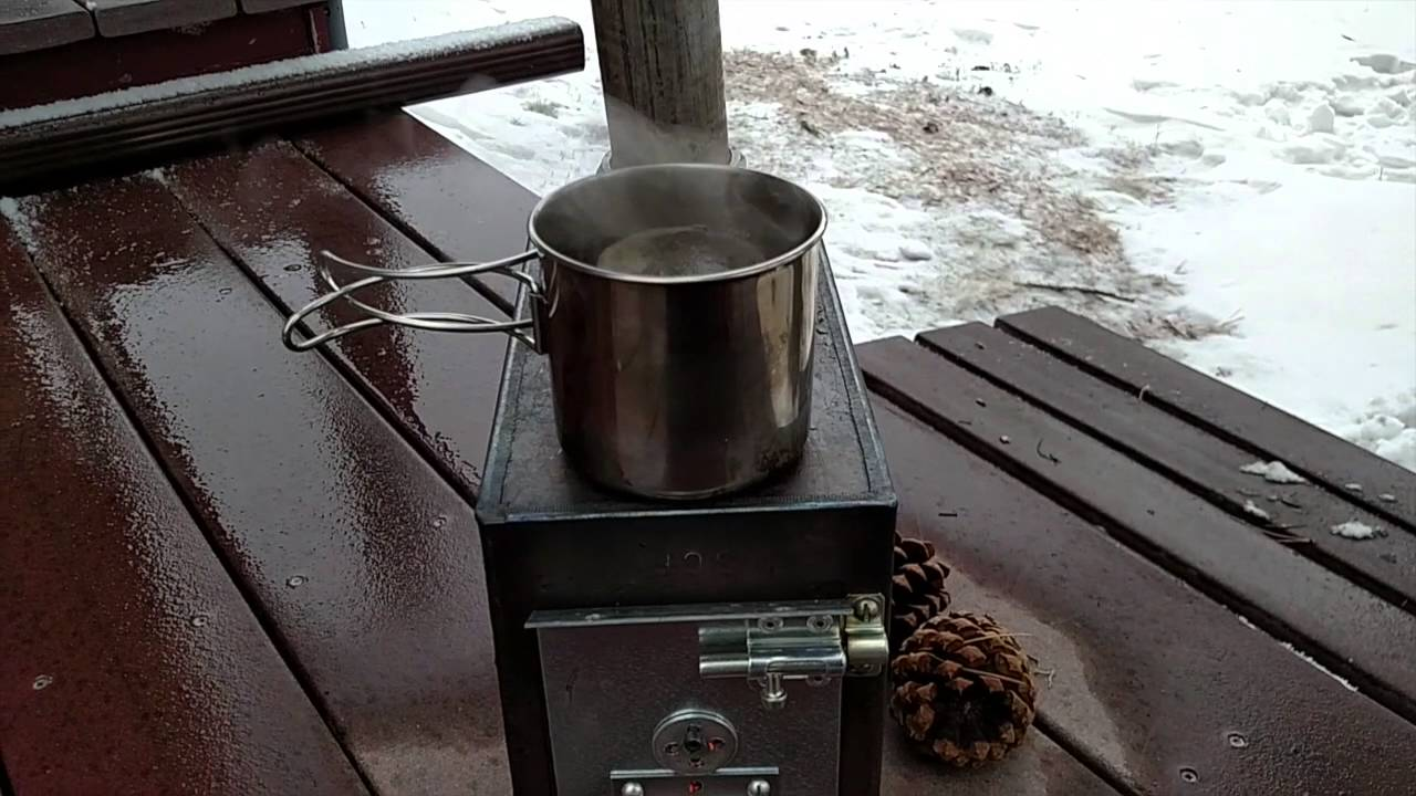 Diy Ammo Can Stove Youtube
