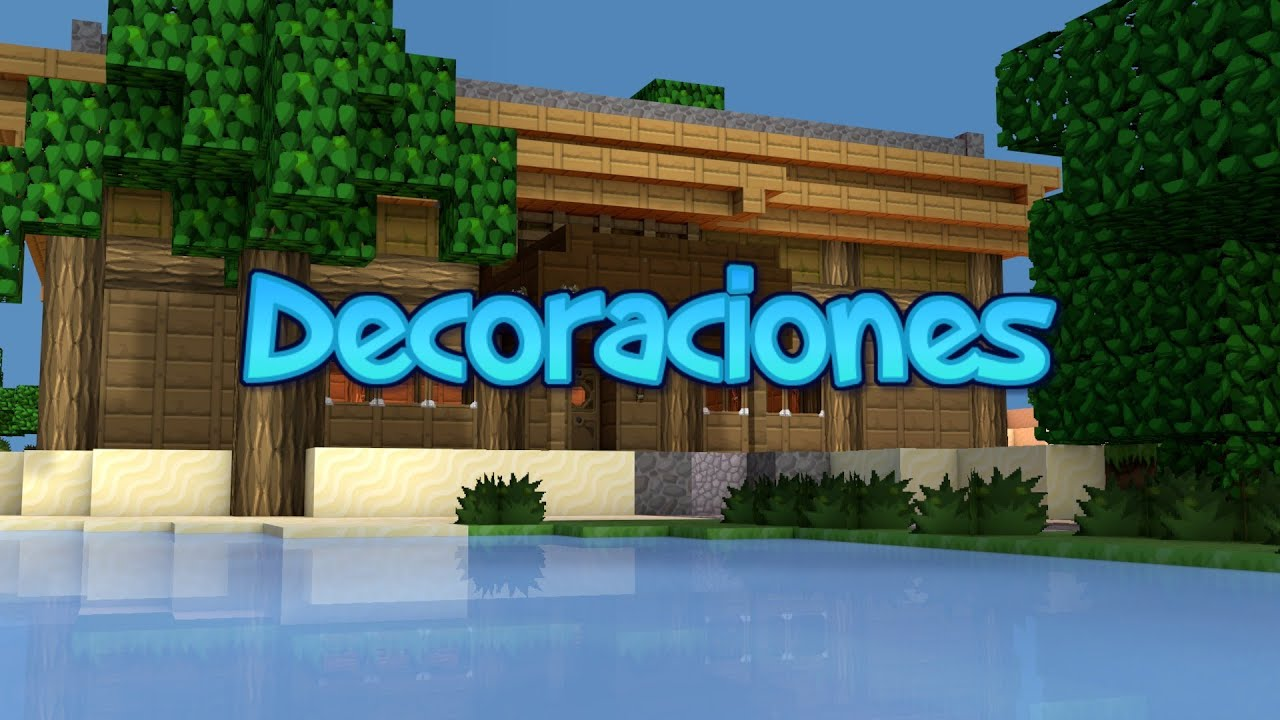 Como Decorar Exteriores Minecraft 1 6 Decoración De Exteriores Minecraft
