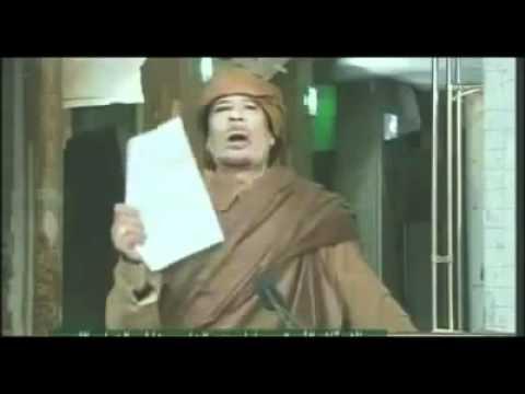 آخر ما قاله القذافي لشعبه و أعداءه يستحق المشاهدة   Le Deriner Message De Kadhafi Gaddafi