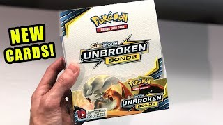 *NEW POKEMON CARDS ARE HERE!* Opening UNBROKEN BONDS BOOSTER BOX with TAG TEAM GX Inside!