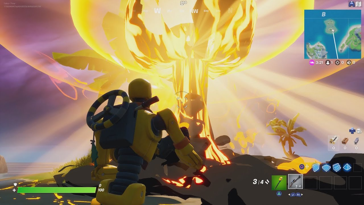 How To Drop A NUKE In Fortnite!