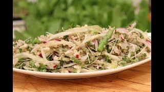 Quinoa Salad With Cabbage Greens | Grow To Eat | Chef Shalaka | Sanjeev Kapoor Khazana