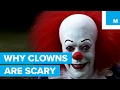 Why Some People are Scared of Clowns   Sharper Science