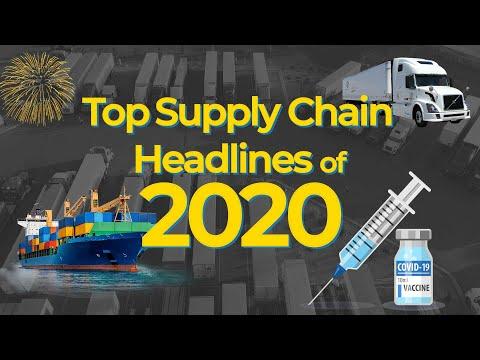 Top Supply Chain Headlines of 2020