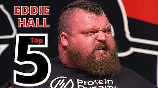 EDDIE HALL - Greatest Feats of STRENGTH