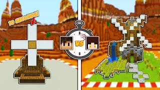 Minecraft: 10 Second vs 10 Minute WINDMILL w/ Shubble!