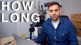 How Long it takes to Become a Music Producer